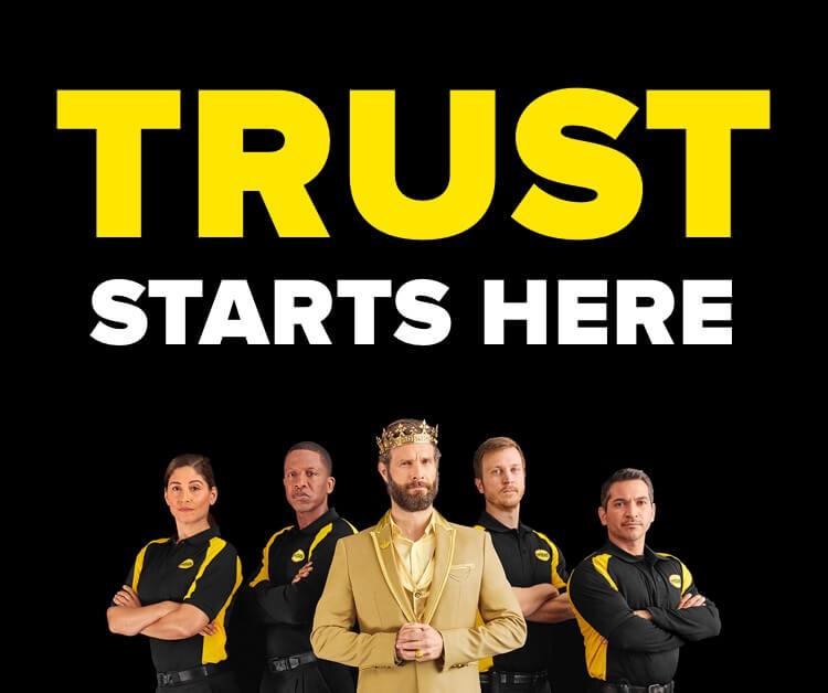 Trust starts here.