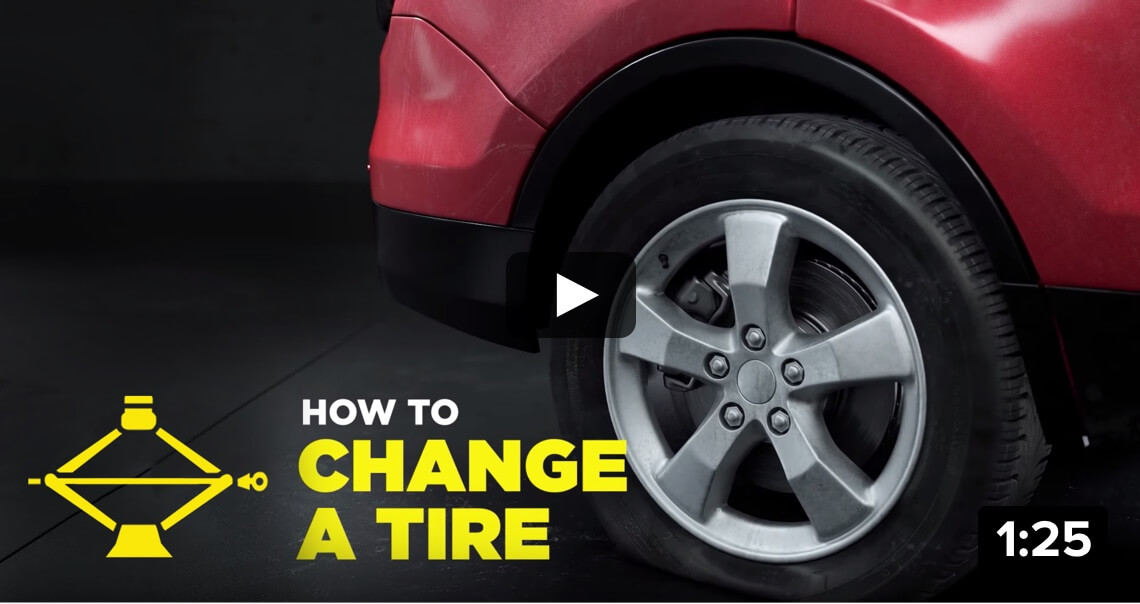 How to change a tire 1:25