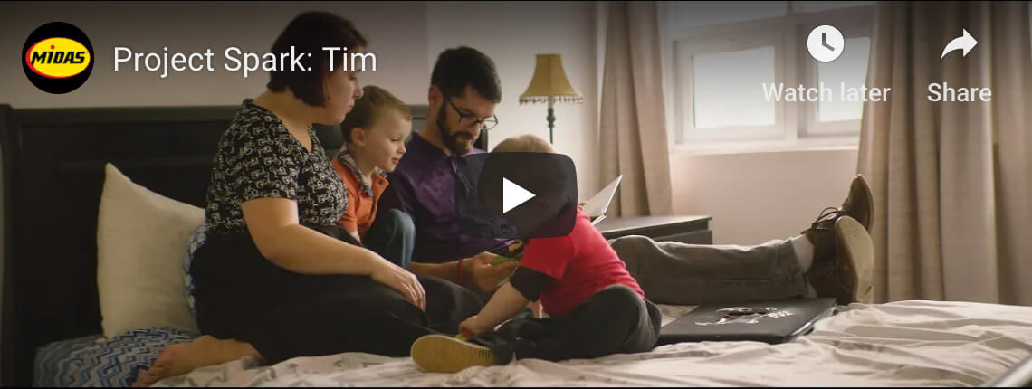 Watch how Midas Project Spark has helped Tim