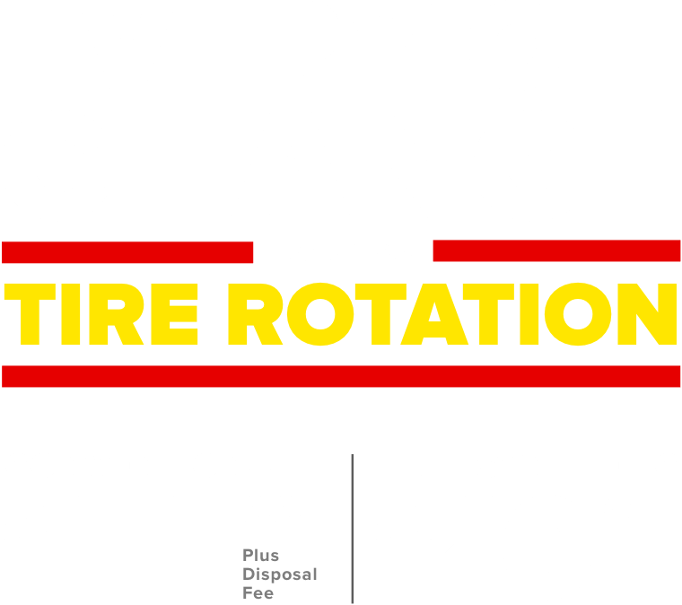 Every oil change includes a tire rotation. Conventional $44.99 Plus disposal fee. Full Synthetic $20 Off.