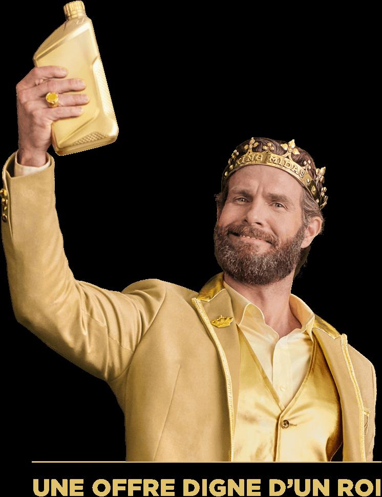 Une offre digne d'un roi'