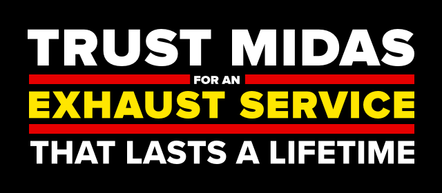 Trust Midas for an exhaust service that lasts a lifetime