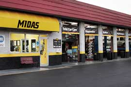 Midas Auto Service and Tires store